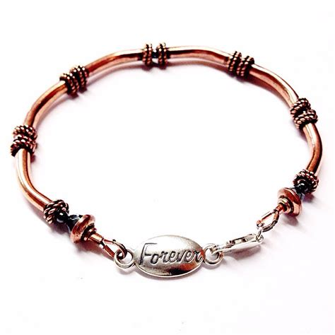 copper for jewelry copper bracelet 7th anniversary gift copper jewelry