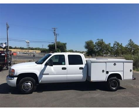2006 gmc 3500 service utility truck for sale west
