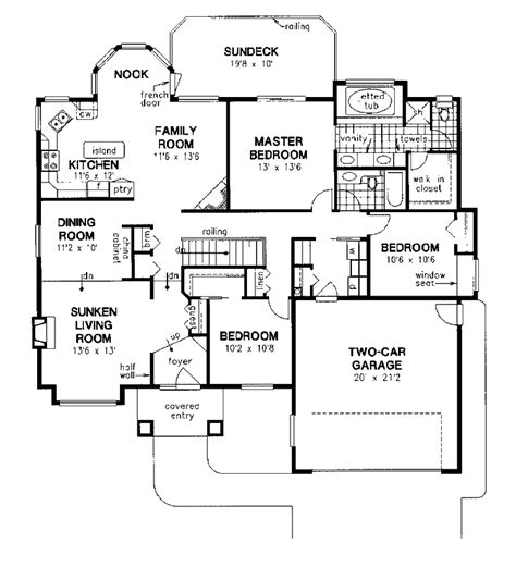 Sunken Living Room House Plans Home Design And Style