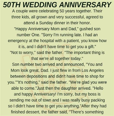 50TH WEDDING ANNIVERSARY! (FUNNY STORY)     Humor
