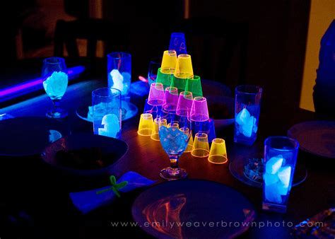 blacklight dinner emily weaver brown photography blog