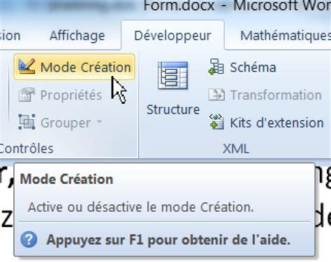 Modèle De Formulaire Word 2010