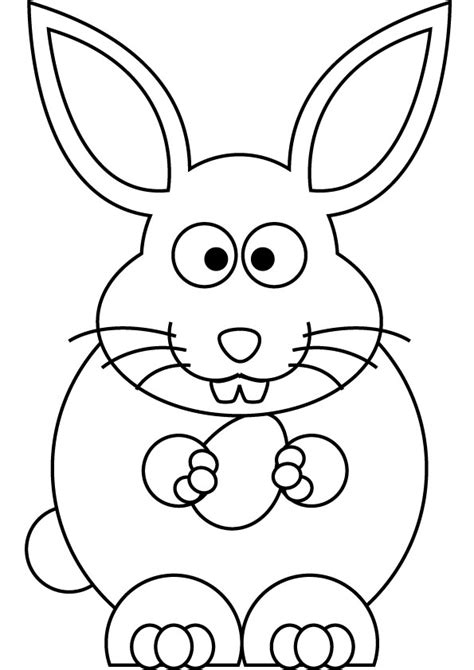doodle draw easter bunny free coloring pages of draw a bunny