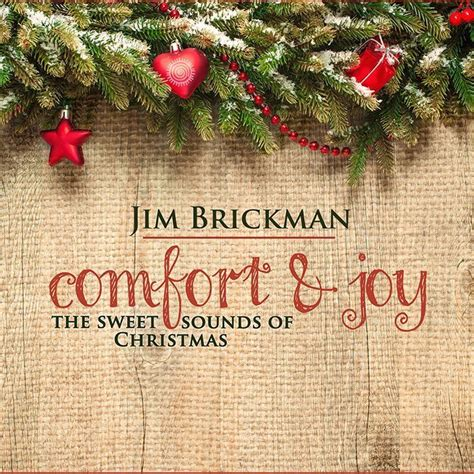 christmas comfort comfort joy cd jim brickman music