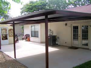 attached lean to patio cover west san antonio carport patio covers awnings san antonio