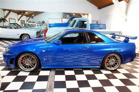 nissan skyline r34 paul walker nissan cars paul walker s skyline gt r for sale 1m