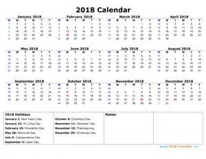 Calendar 2018 Printable With Week Numbers Printable 2018 Calendar