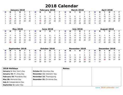 2018 Calendar With Weeks 2018 Calendar With Week Numbers Excel Imovil Co