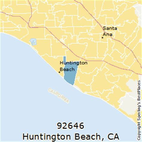 zip code map huntington beach ca best places to live in huntington beach zip 92646