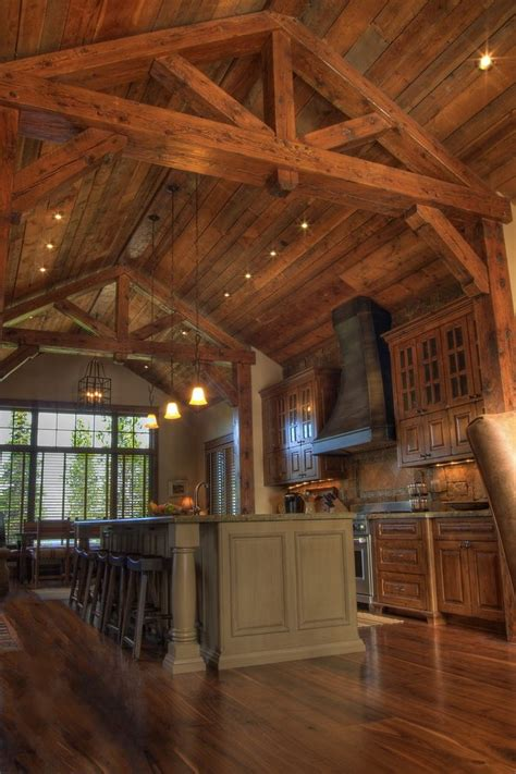 Glass Kitchen Tile Backsplash Ideas cathedral ceiling kitchen kitchen traditional with rustic
