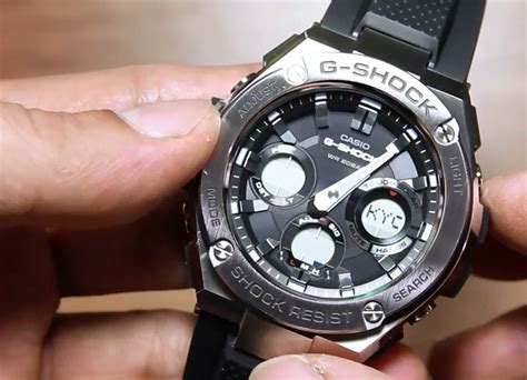 casio g shock g steel gst s110 1a indowatch co id