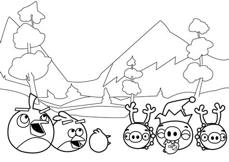 angry birds coloring pages new angry birds coloring pages all free coloring page