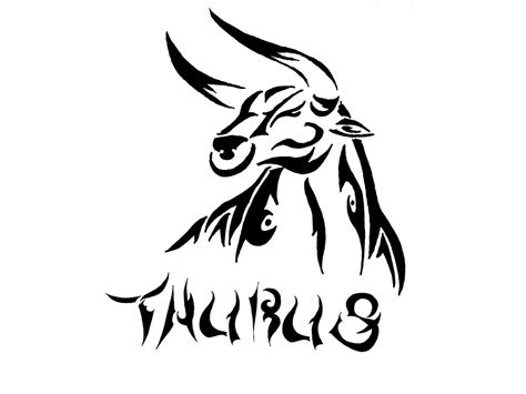 tribal horoscope tattoos 63 taurus zodiac sign and designs