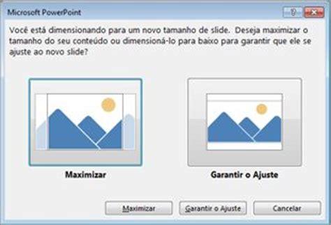tamanho layout power point alterar o tamanho de seus slides powerpoint