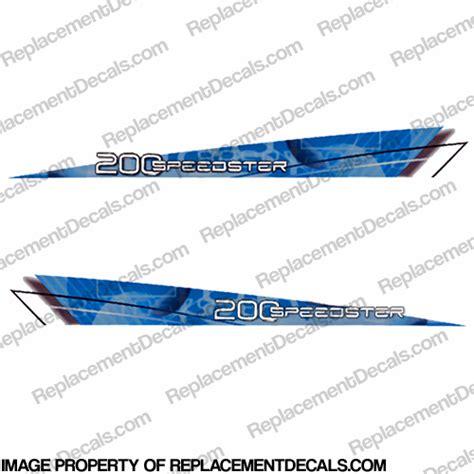 jet boat decals sea doo 2009 speedster 200hp decals