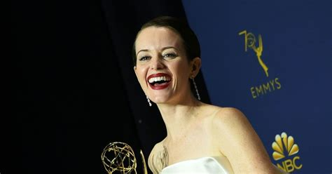 matthew rhys emmy win video emmy awards 2018 claire foy and matthew rhys lead british