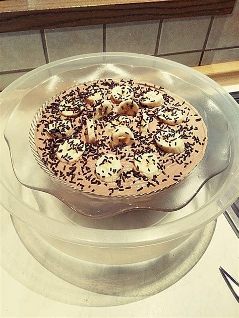 schoko kuchen verzieren schoko bananen quark kuchen postsanimeut