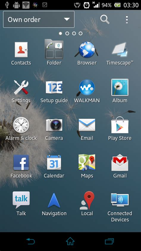 themes live with walkman app modified xperia z launcher home 5 1 s sony