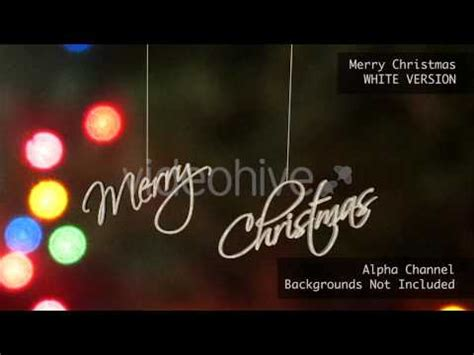 merry christmas happy holidays motion graphics youtube