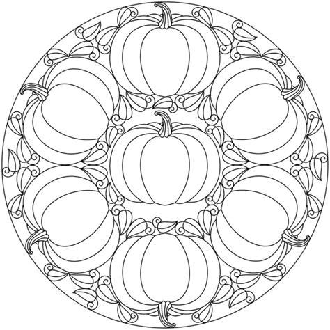 thanksgiving abstract coloring pages herbst mandalas f 252 r kinder zum ausdrucken und ausmalen