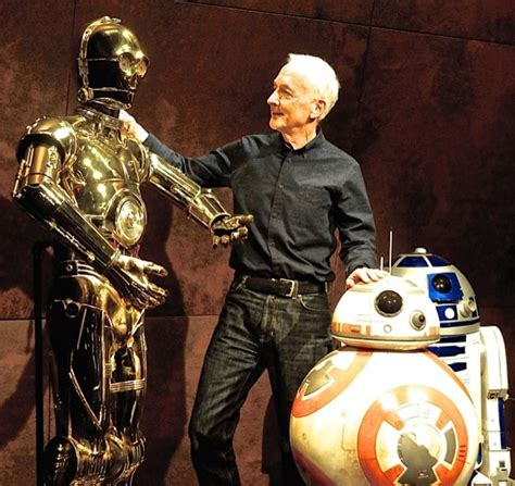 anthony daniels death anthony daniels contemplates c 3p0 s death and developing