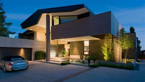 Detached Garage Designs moderna casa unifamiliar con terraza en la azotea p 225 gina 1