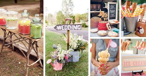 cute backyard wedding ideas 40 breathtaking diy vintage ideas for an outdoor wedding