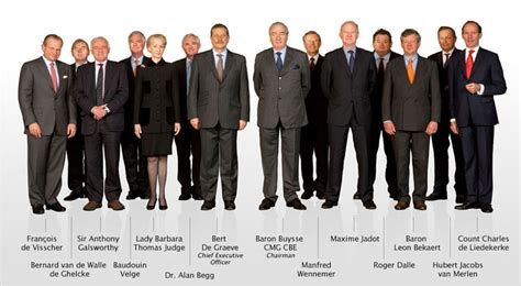 The Directors by Board Of Directors Bekaert Annual Report 2009