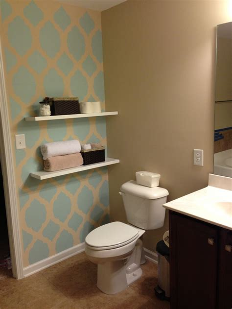 bathroom accent wall home ideas