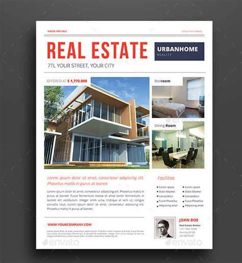 2017 latest real estate designs 24 real estate flyer designs design trends premium