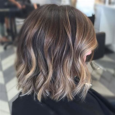 brunette hair to blonde short 25 best ideas about balayage on straight hair on