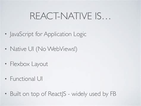 react js flexbox layout introduction to react native redux