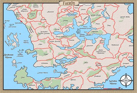 map of faerun dungeons dragons rpg pen paper amiga licensees retrohd