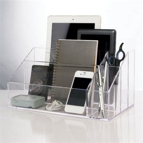Electronic Desk Organizer Best 25 Acrylic Organizer Ideas On Acrylic Makeup Storage Makeup Organization And