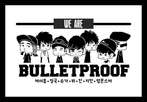 bts we are bulletproof quot bts we are bulletproof chibi 2 quot metal prints by k waii
