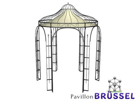 Pavillon Metall Rund by Pavillon Metall Rund Gartenlaube Br 220 Ssel Ausgefallen