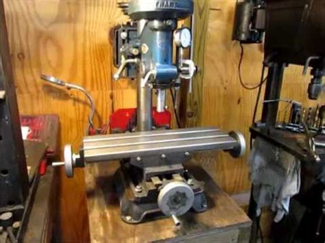 Round Pedestal End Tables Milling With A Drill Press Youtube