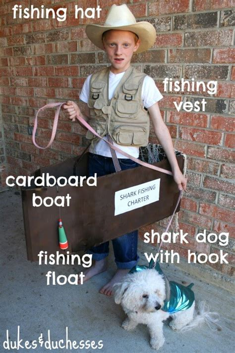 fishing boat costume diy fisherman costume dukes and duchesses