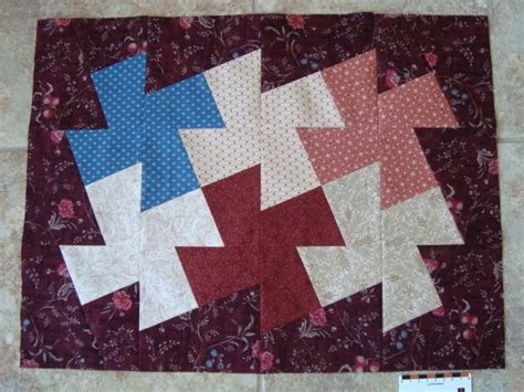 Windmill Quilt Block Pattern by Thread Windmill Mini Quilt