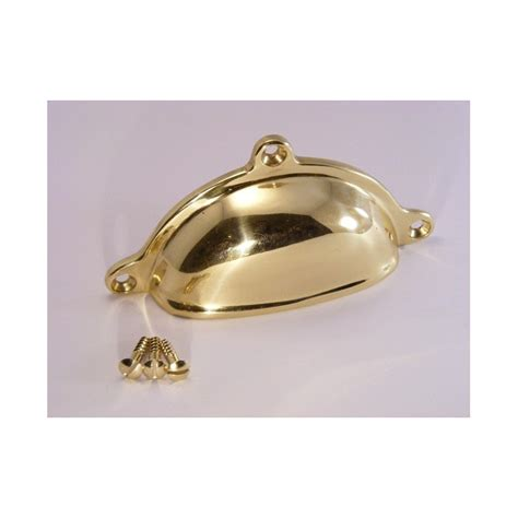 polished brass cabinet pulls 98mm in length polished brass cabinet pull handle the