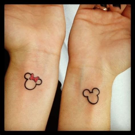 tattoo couple disney disney couples tattoos love tattoo pinterest