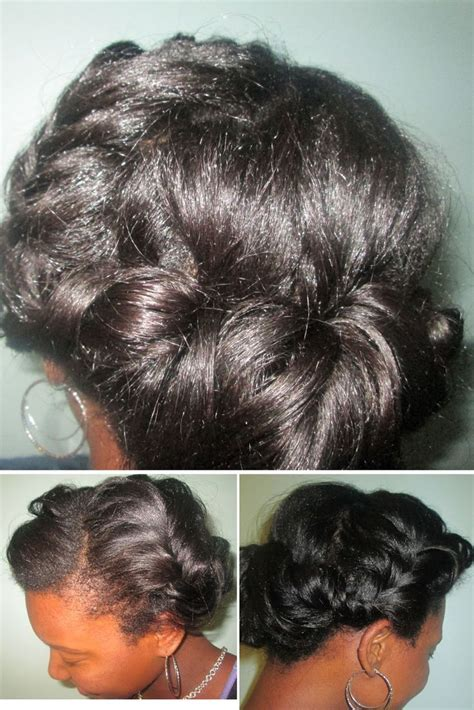 heatless protective hairstyles 157 best black brides with beautiful natural hair images