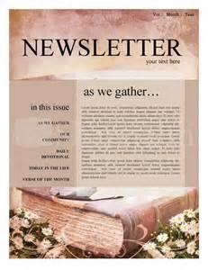 scripture church newsletter template newsletter templates