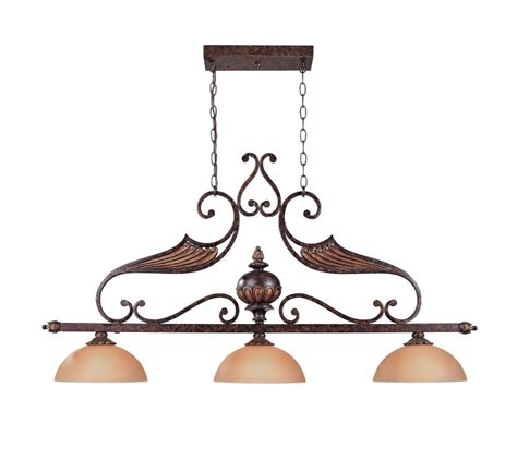 Wrought Iron Island Lighting Classic Lighting 71115 Ts G Tortoise Shell With Gold Patina 25 Quot Wrought Iron Island Billiard