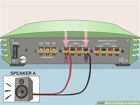 100 wiring diagram for bridging speakers speakon 4