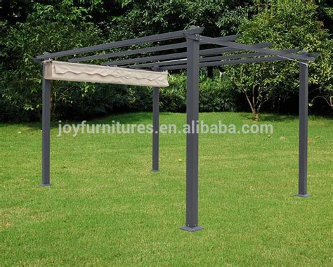 Metal Top Pergola Gazebo Buy Metal Top Pergola Gazebo Metal Roof Pergola