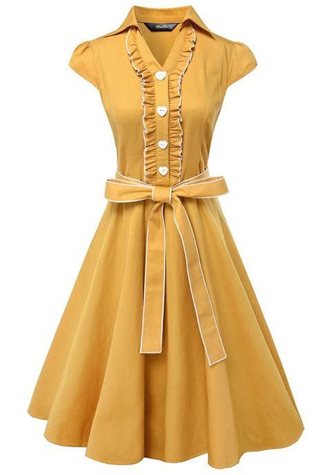 anni coco 174 s 1950s cap sleeve swing vintage