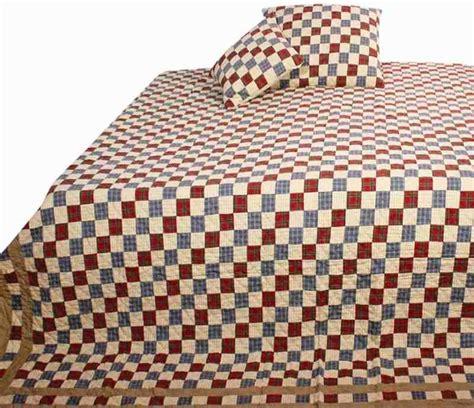 Tartan Patchwork Quilt - tartan scottish