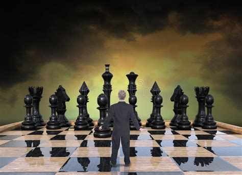 career chess how to win the corporate books business strategy risk sales marketing stock photo