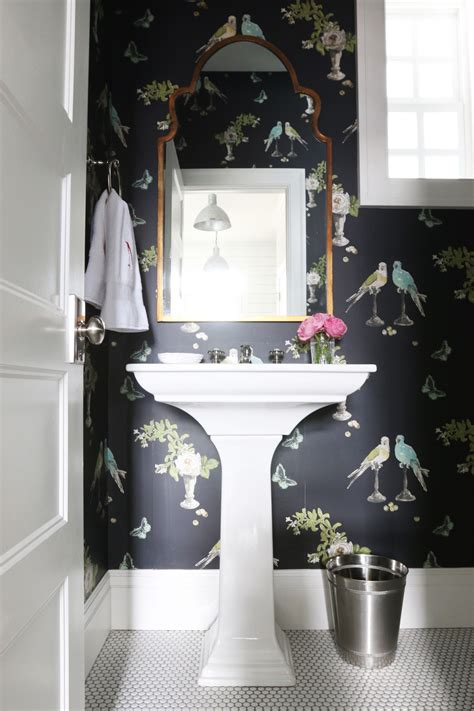 wallpaper powder room 8 fabulous powder rooms that will inspire a makeover v i